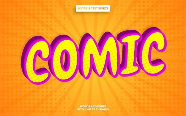 Текстовый эффект в стиле комиксов