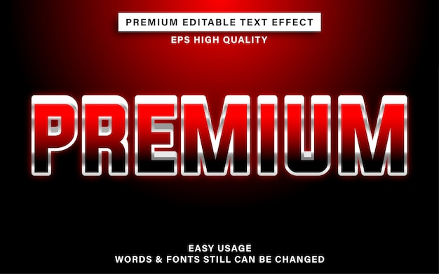 Премиум текстовый эффект