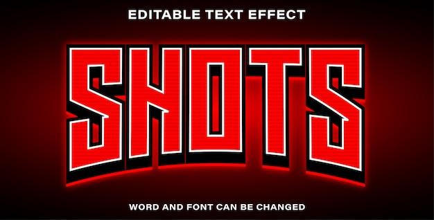 Снимки в стиле текстовых эффектов