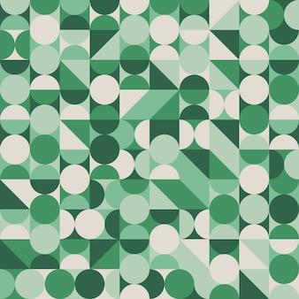 抽象的な幾何学的シームレスパターン。