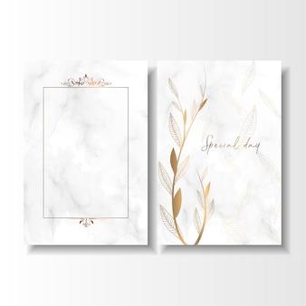 日付の特別な日の結婚式の誕生日カードを保存する