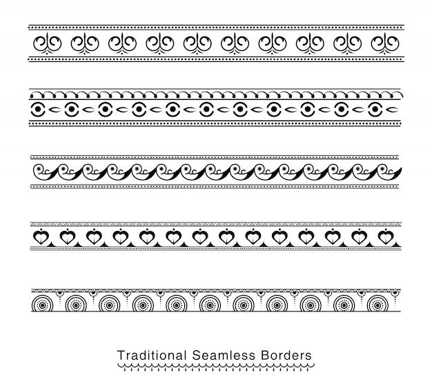 Дизайн бесшовных границ