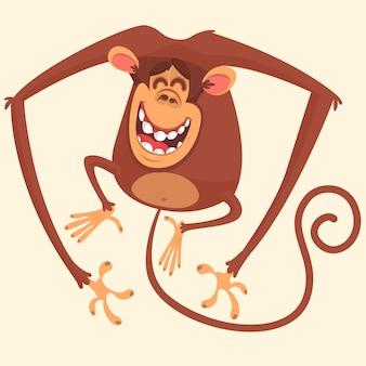 Мультфильм смешная обезьяна
