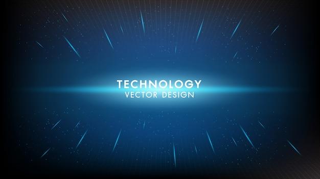 抽象的なデジタルデジタルイノベーション技術背景未来