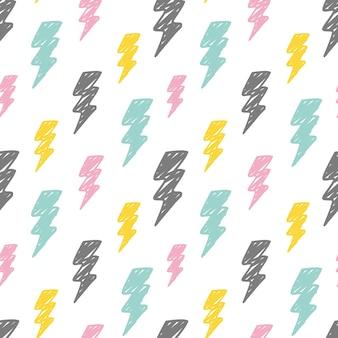 抽象的な雷の背景