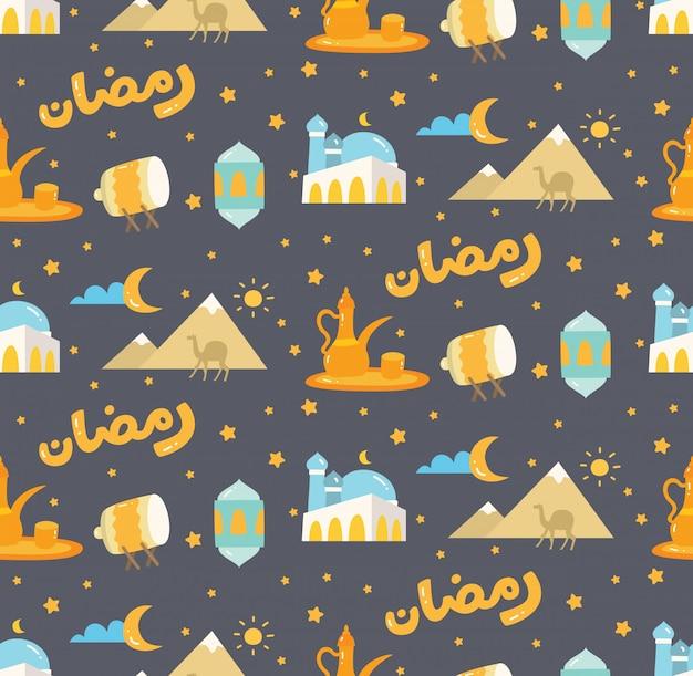 イスラムのシームレスパターン