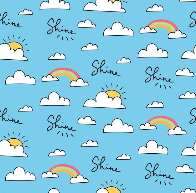 空のパターン