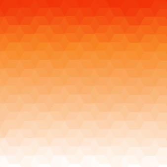 Оранжевый градиент геометрический низкий поли абстрактный фон