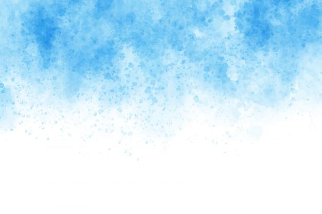 青い水彩ウォッシュスプラッシュバックグラウンド