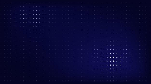 Темный научно-фантастический точечный шаблон веб-страницы размером с фон