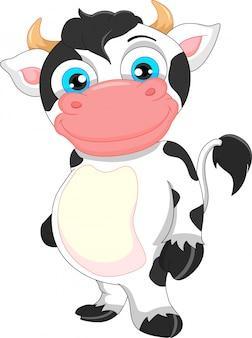 かわいい赤ちゃん牛漫画