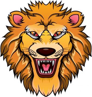 ライオンヘッドマスコット