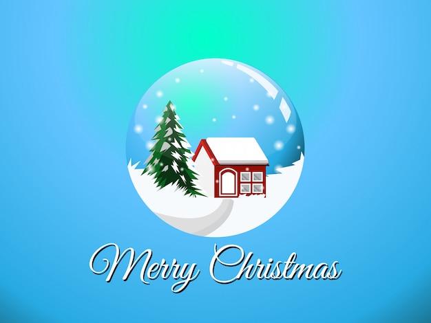 ボールグラスクリスマス
