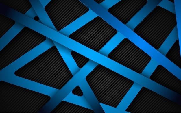 Абстрактный темно-синий фон в сочетании с световым эффектом.