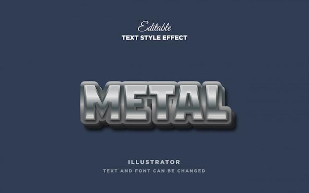 金属文字スタイルの効果