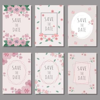ウェディングカードとバレンタインカードのセット