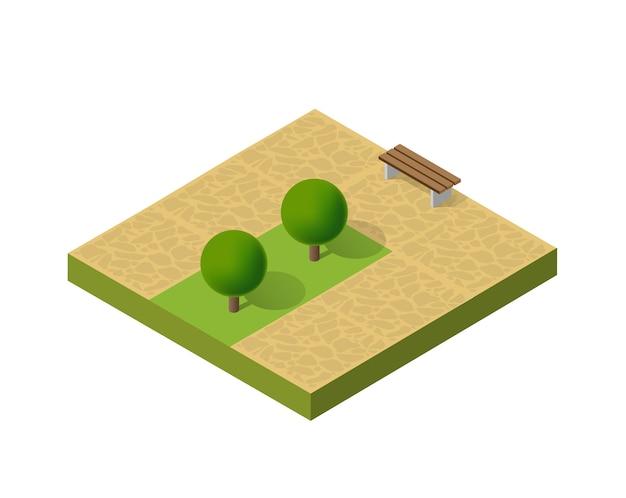 Природный экологический ландшафт