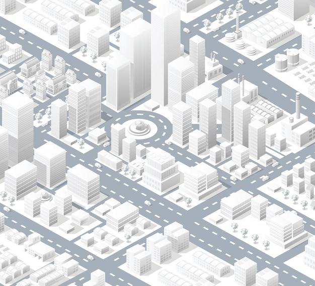 市の市街地