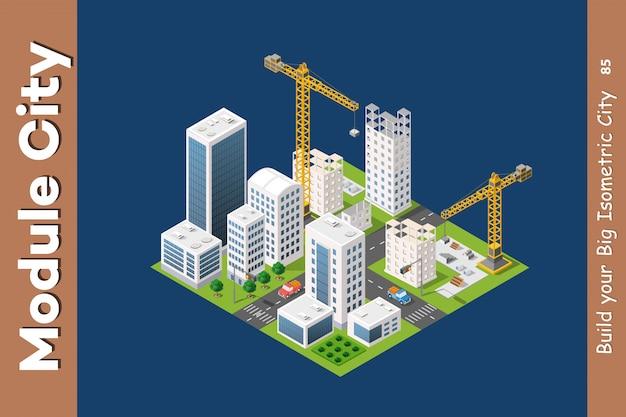モジュール等尺性都市住宅
