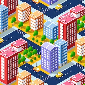 Структура мегаполиса города