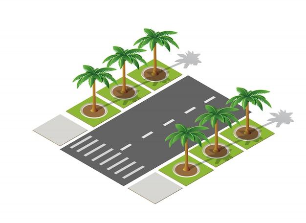 高速道路街の通り道