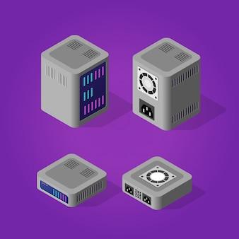 コンピューターの電源サーバー