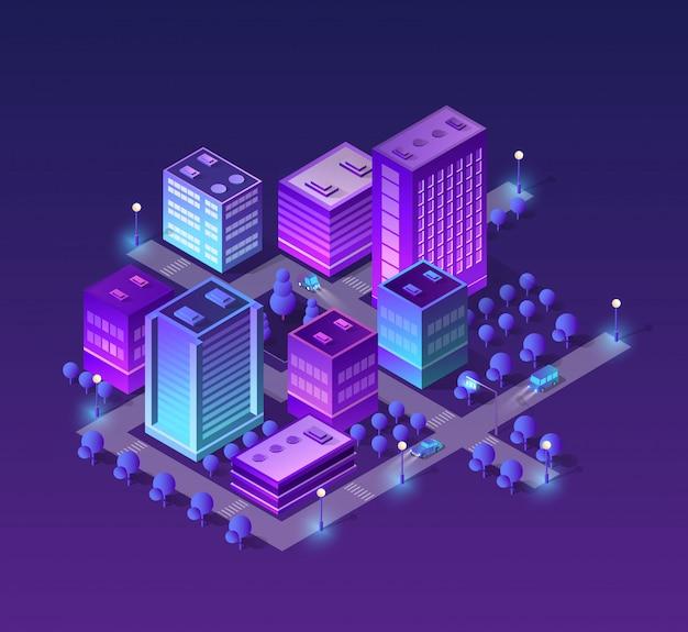 Набор фиолетовых цветов