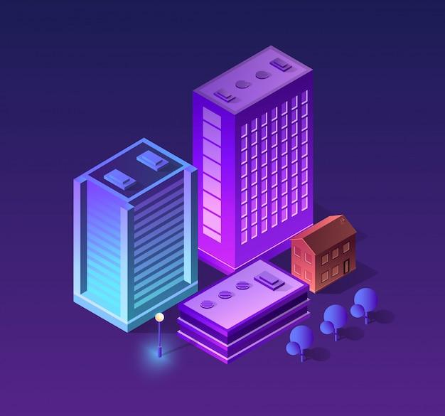紫色のセット