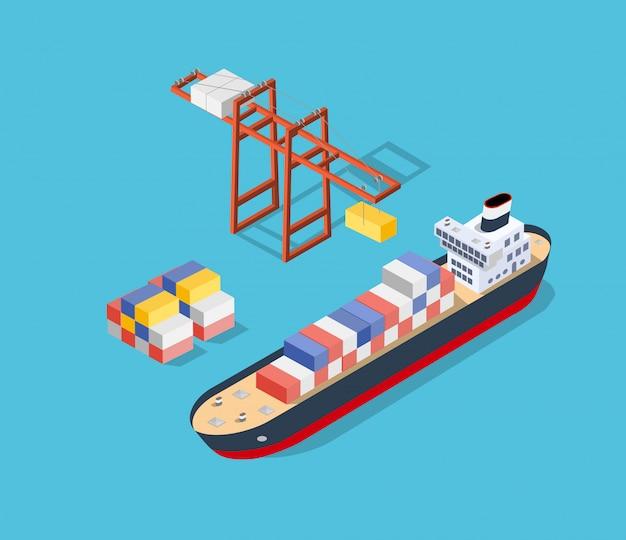 等尺性船の貨物
