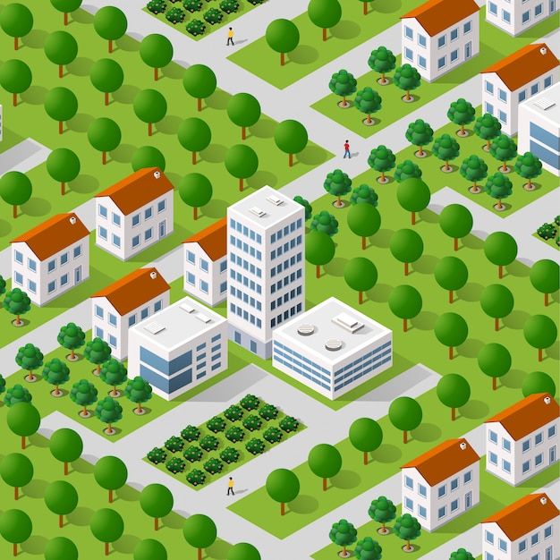 Мегаполис городской квартал