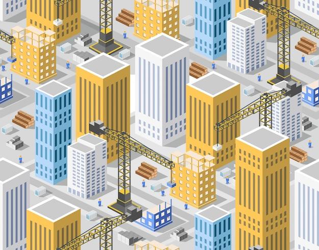 シームレスパターン都市計画