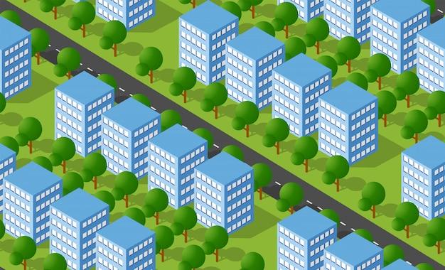都市等尺性エリア