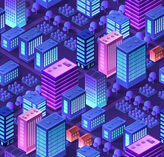 概念的な都市シームレス