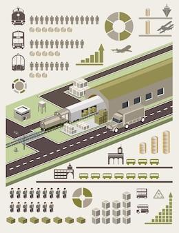 情報グラフィック要素