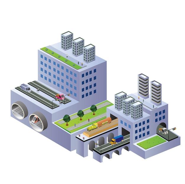 Изометрические здания