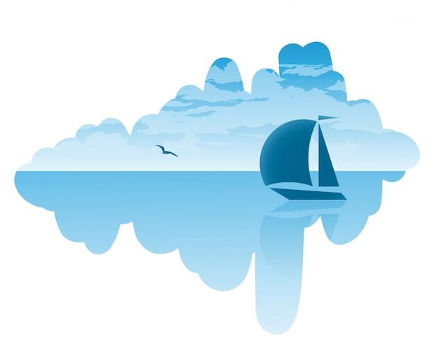 Путешествие на парусной лодке