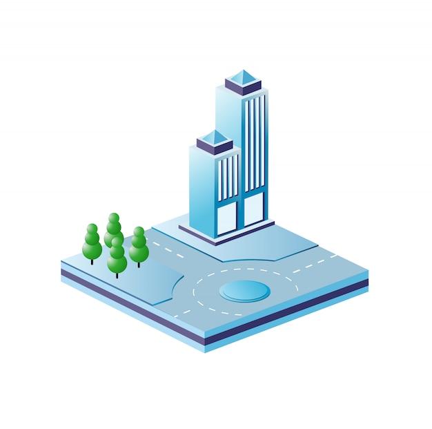 Городские квартальные модули для строительства
