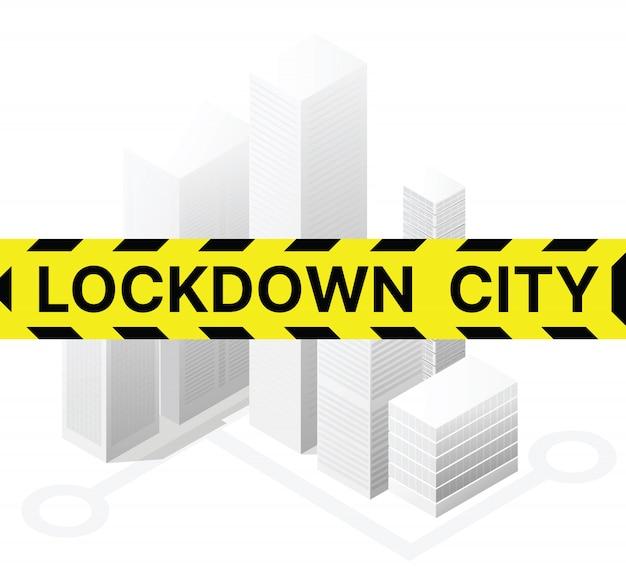 Заблокированный город заблокирован от