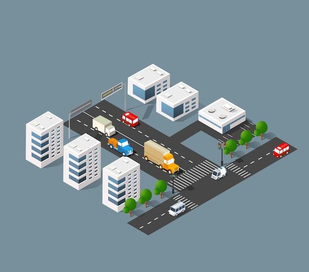都市交通の通り
