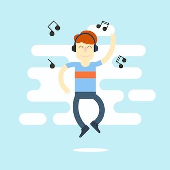 男に見せかけて音楽を楽しむ