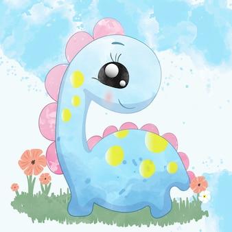 Детский динозавр