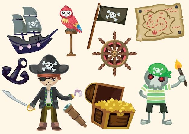 漫画の海賊のコレクション