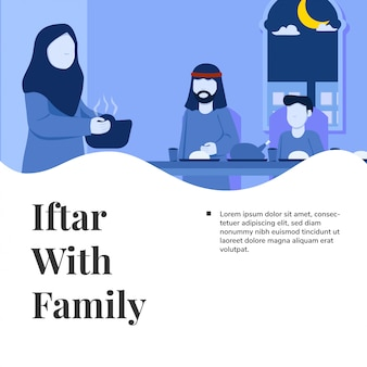 Ифтар с семьей рамадан карим