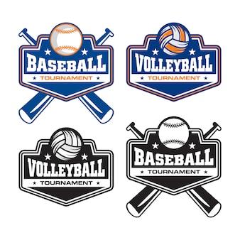 ベースボールのロゴ