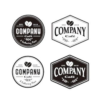 Кофейня кафе логотип