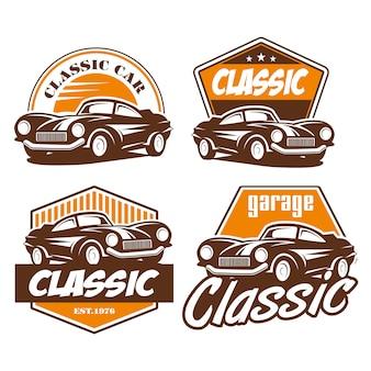クラシックカーのロゴ