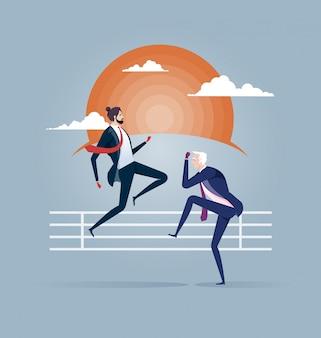 ビジネスの戦い