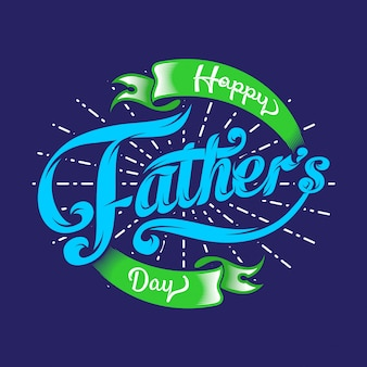 幸せな父親