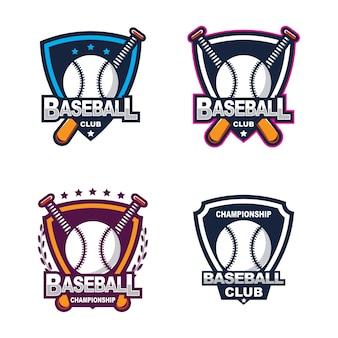 野球ロゴ、アメリカンロゴスポーツ