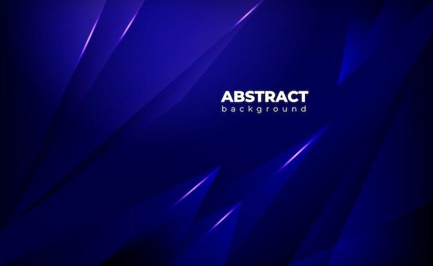 暗い青の抽象的な幾何学的な背景